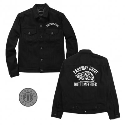 Parkway Drive - Bottom Feeder Denim Jacket