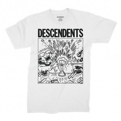 Descendents - Spazzhazard Explosion T-Shirt (White)