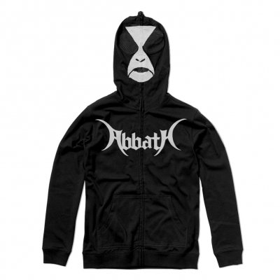 abbath - War Paint Zip Up Sweatshirt (Black)
