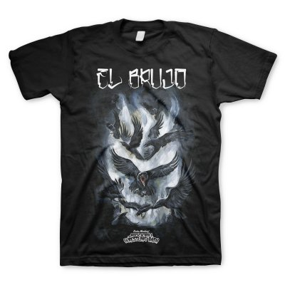 rock-n-roll-wrestling-bash - Brujo's Wrath T-Shirt