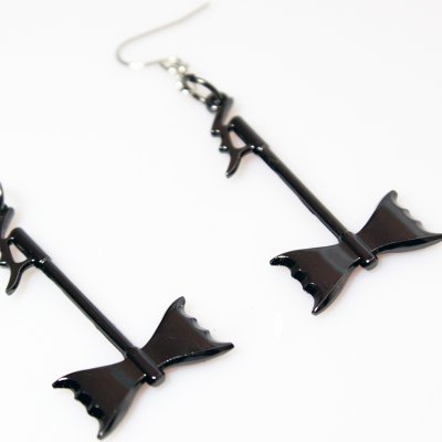 abbath - Axe Earrings
