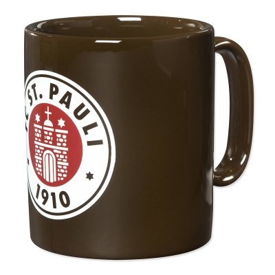 Club Crest Coffee Mug (brown)