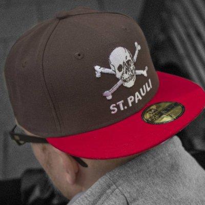 FC St Pauli - Club Crest Snapback Cap (Brown)