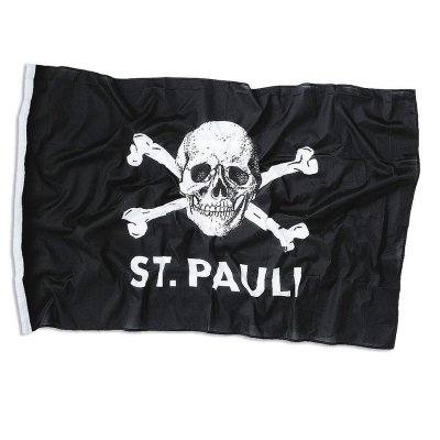 St. Pauli Skull Flag (Large)