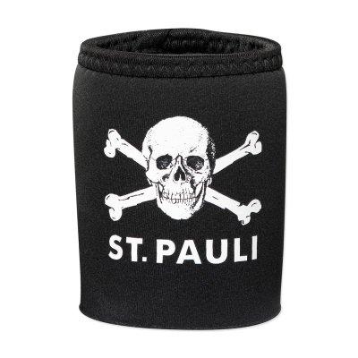 FC St Pauli - St Pauli Skull Beer Coozie