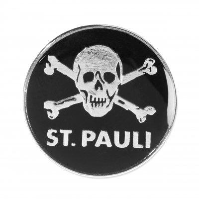FC St Pauli - St. Pauli Skull Enamel Pin