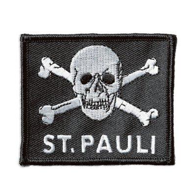 FC St Pauli - St. Pauli Skull Woven Patch