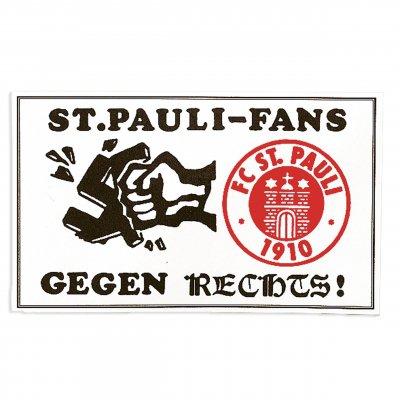 FC St Pauli - 50pc St Pauli Fans Gegen Rechts Sticker Pack