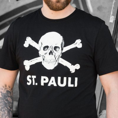 FC St Pauli - Skull Tee (Black)