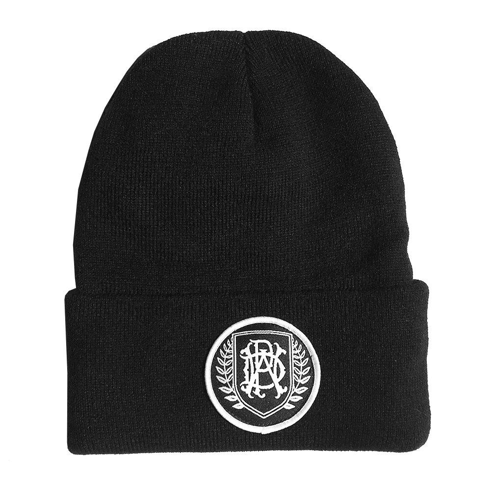 IMAGE   Emblem Patch Beanie (Black)