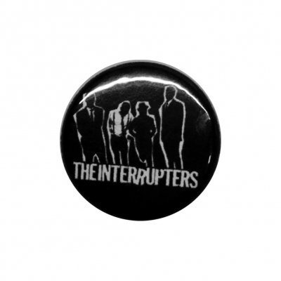 "the-interrupters - Silhouette Button (1"")"