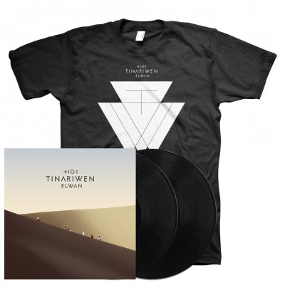 anti-records - Elwan 2xLP + Elwan T-Shirt Bundle