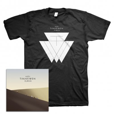 Tinariwen - Elwan CD + Elwan T-Shirt Bundle