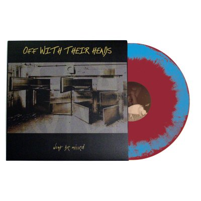 Off With Their Heads - Won't Be Missed LP (Blue/Red)