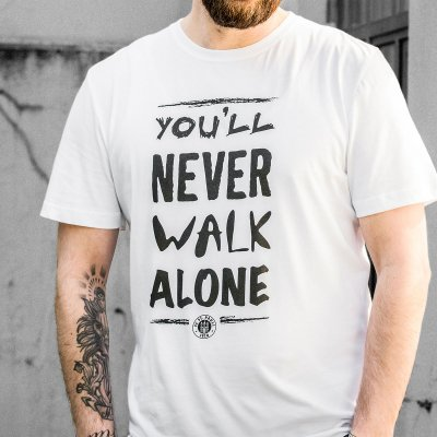 fc-st-pauli - You'll Never Walk Alone T-Shirt (White)