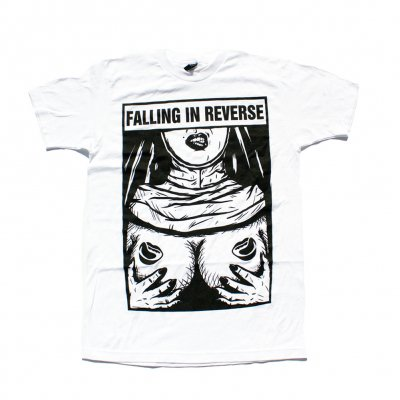 falling-in-reverse - Nun Nipples Tee (White)