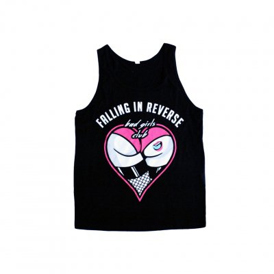 falling-in-reverse - Booty Tattoo Tank (Black)