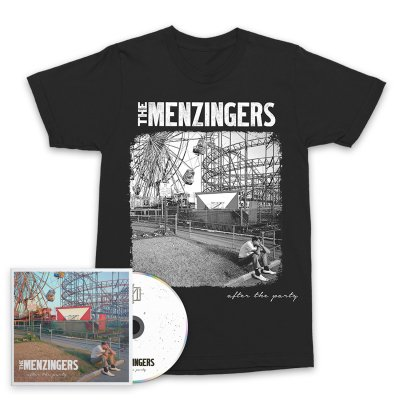 The Menzingers - After The Party CD & Cover T-Shirt Bundle