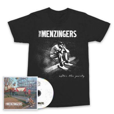 The Menzingers - After The Party CD & Sad Guy T-Shirt Bundle