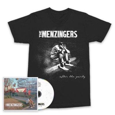 The Menzingers - After The Party CD & Sad Guy T-Shirt Bundle