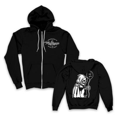 The Menzingers - Pity Party Zip Hoodie (Black)