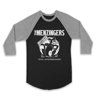 The Menzingers - Cat Raglan (Black/Gray)