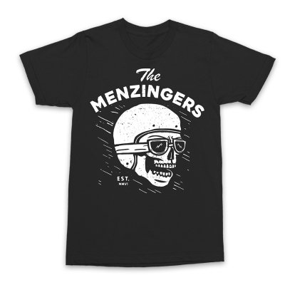 The Menzingers - Helmet T-Shirt (Black)