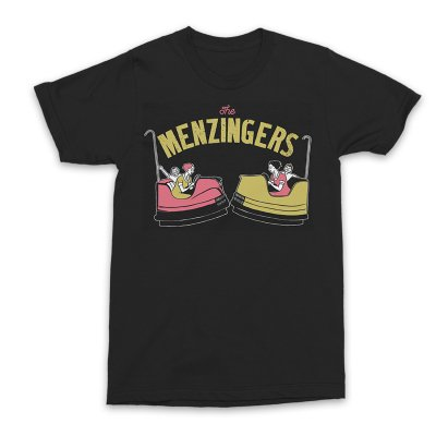 The Menzingers - Bumper Cars T-Shirt (Black)