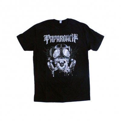 papa-roach - Face Mask Tee - Black