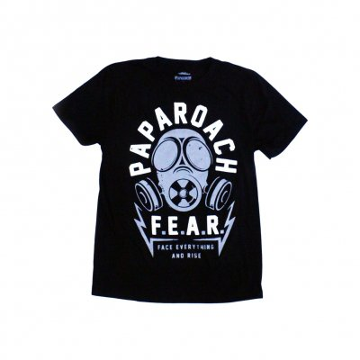 papa-roach - '15 FEAR Tour Tee - Black