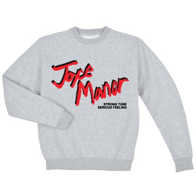 joyce-manor - Slasher Crewneck Sweatshirt (Gray)