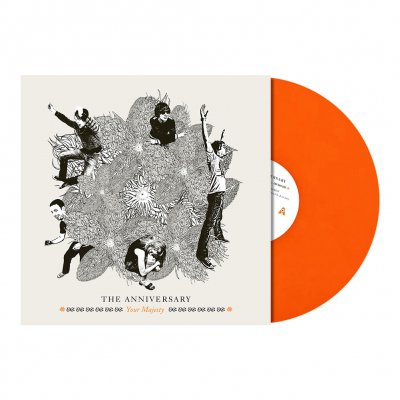 The Anniversary - Your Majesty LP (Orange)