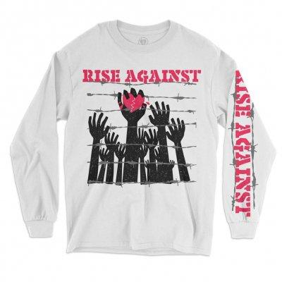 Rise Against - Prisoners Longsleeve (WHITE)