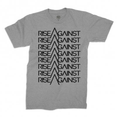 rise-against - Future Tee (HEATHER GRAY)