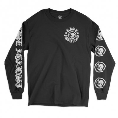 rise-against - HeartFist Stamp Longsleeve Tee (Black)