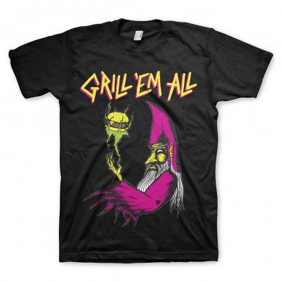 grill-em-all - Wizard Tee