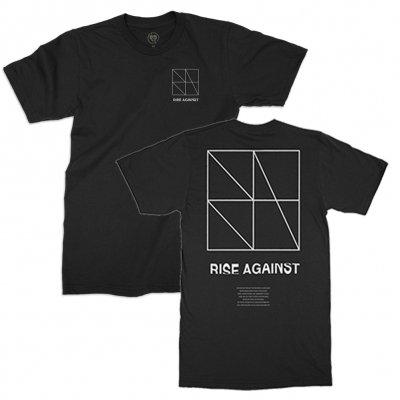 Rise Against - Nothing Tee (BLACK)