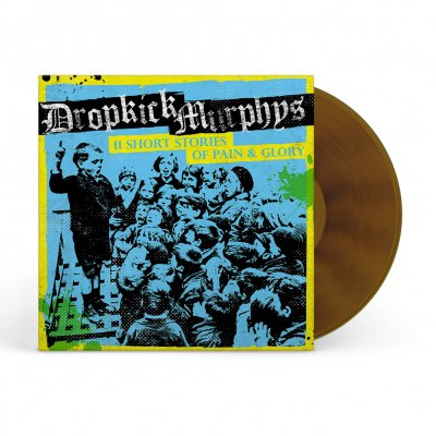 dropkick-murphys - 11 Short Stories Of Pain And Glory LP (Beer Brown)