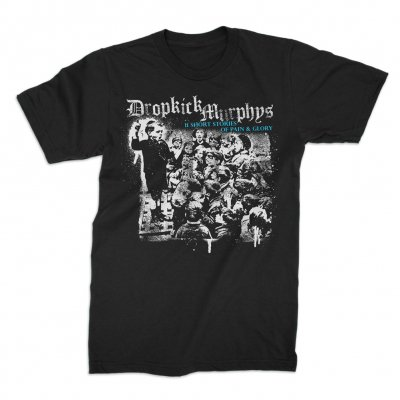 dropkick-murphys - Short Stories Album Tee (Blue Art)
