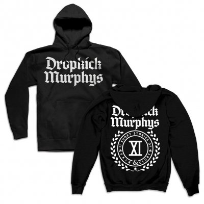 Dropkick Murphys - Short Stories Crest Pullover Hoodie (Black)