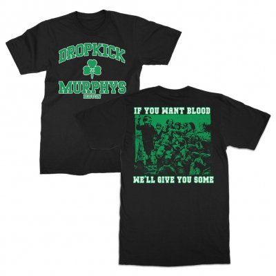 dropkick-murphys - Short Stories Youth Crew Tee (Black)