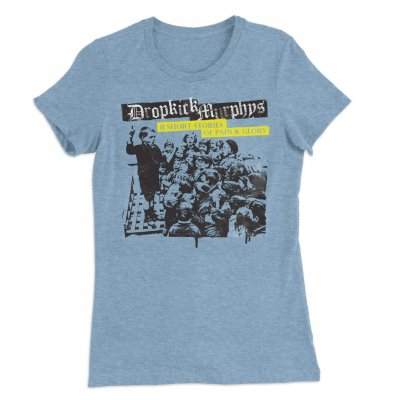dropkick-murphys - Short Stories Album Triblend Womens Tee (Blue)