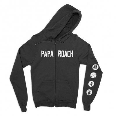 papa-roach - FEAR Hoodie (Black)