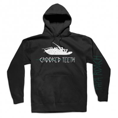 Crooked Teeth Hoodie (Black)