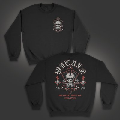 valhalla - Death's Head Crew Neck Sweatshirt (Black)