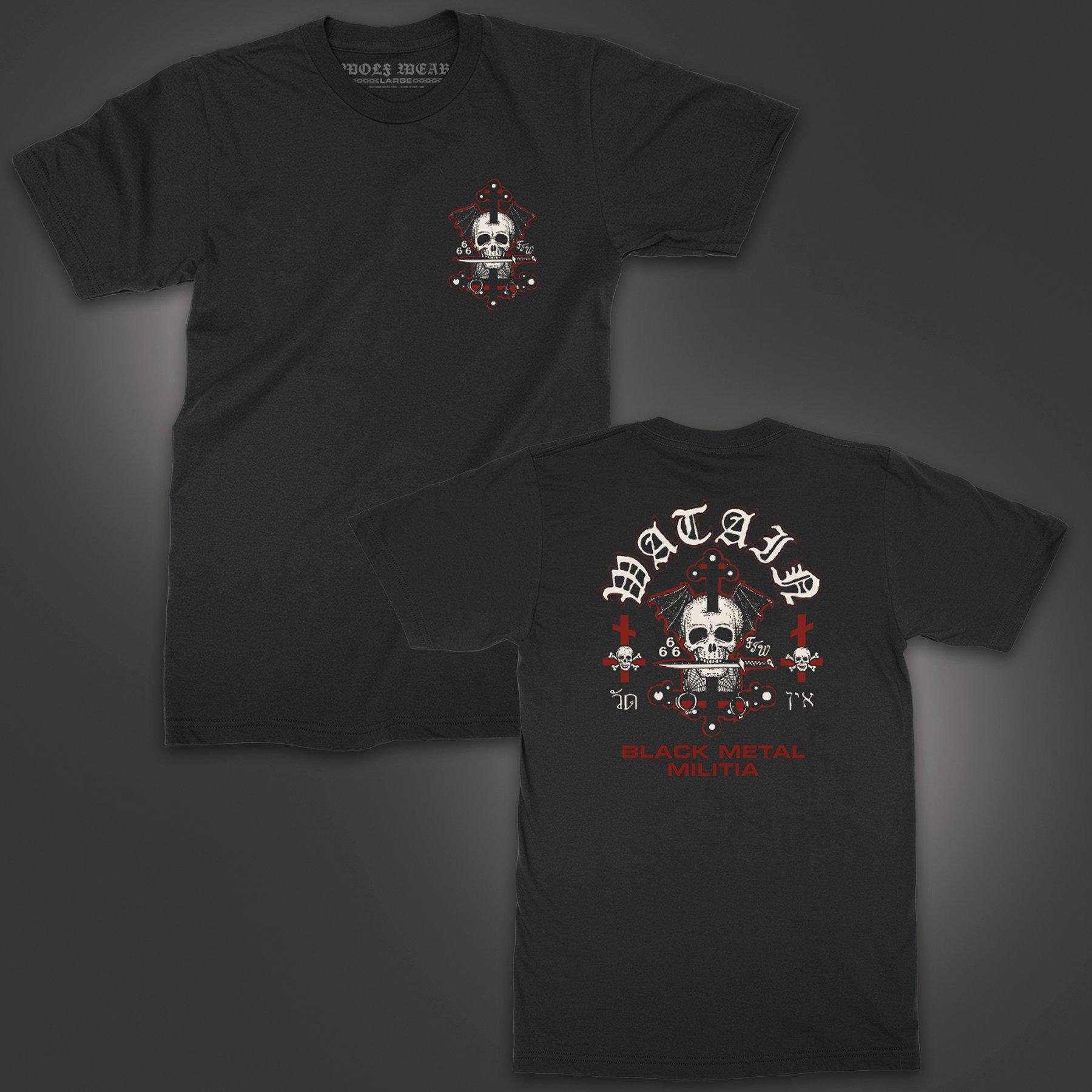 Death's Head T-Shirt (Black)