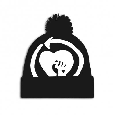 rise-against - HeartFist Beanie (BLACK)