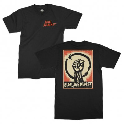 rise-against - HeartFist Poster Tee (Black)
