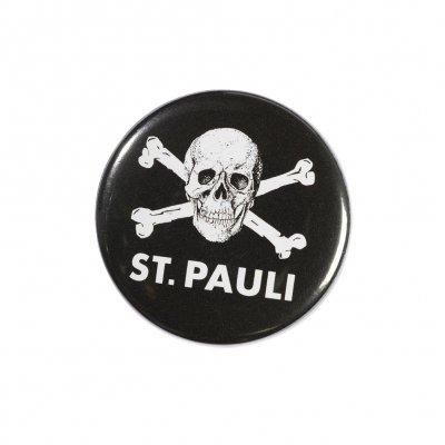 FC St Pauli - St. Pauli Skull Button