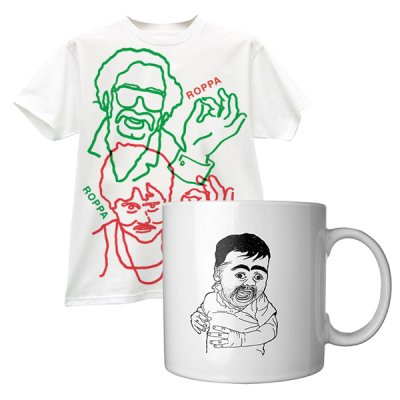 tim-and-eric - Chippy Mug/Roppa T-Shirt Bundle